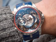5872b1fdf89 How Much Roger Dubuis Excalibur Quatuor Cobalt MicroMelt Watch Hands-On  Expensive Replica