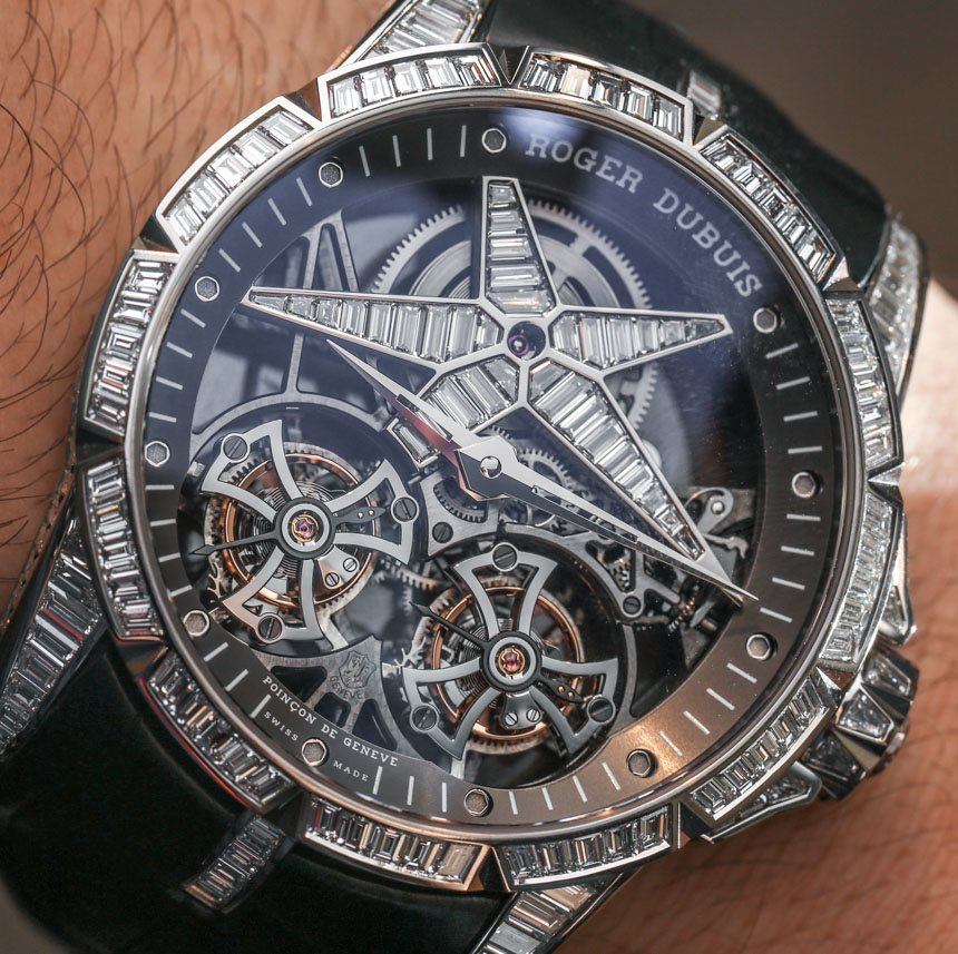 b131293ba36 Roger Dubuis Excalibur Star Of Infinity Double Tourbillon Watch Hands-On  Hands-On