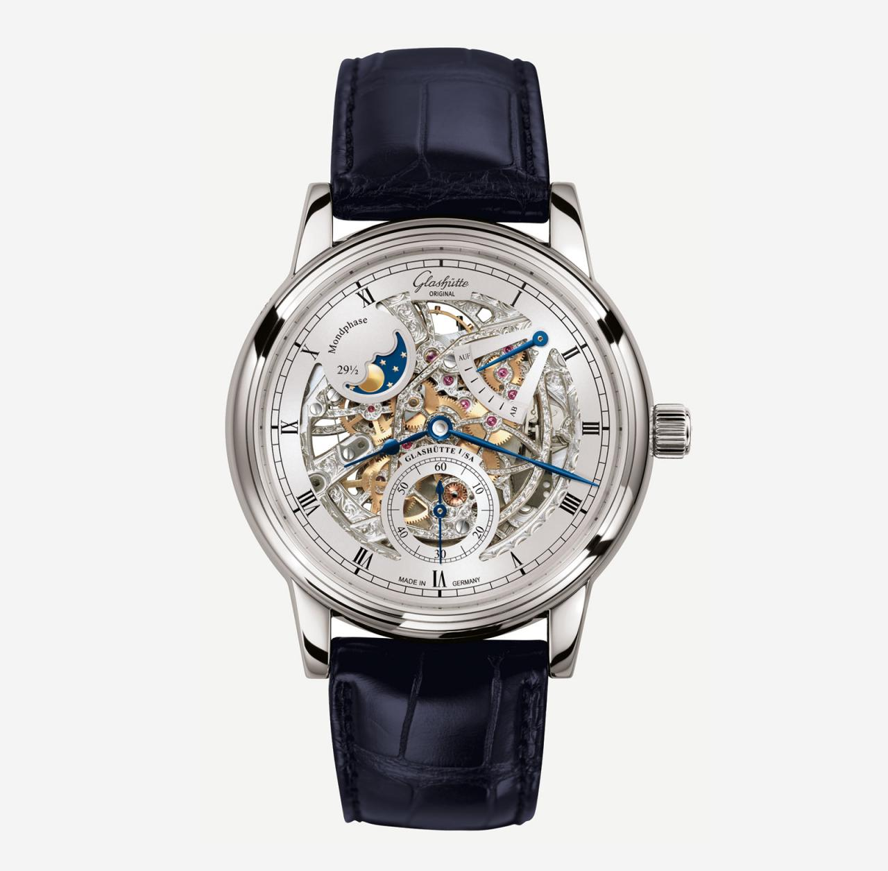 Glashütte Original Senator Moon Phase Skeletonized Edition 1