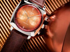 Glashütte Original Sixties-Iconic-Square-Tangerine