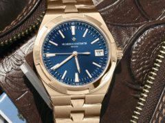 Vacheron Constantin Unveils Overseas Self-Winding Watch In Pink Gold replica Watch Releases